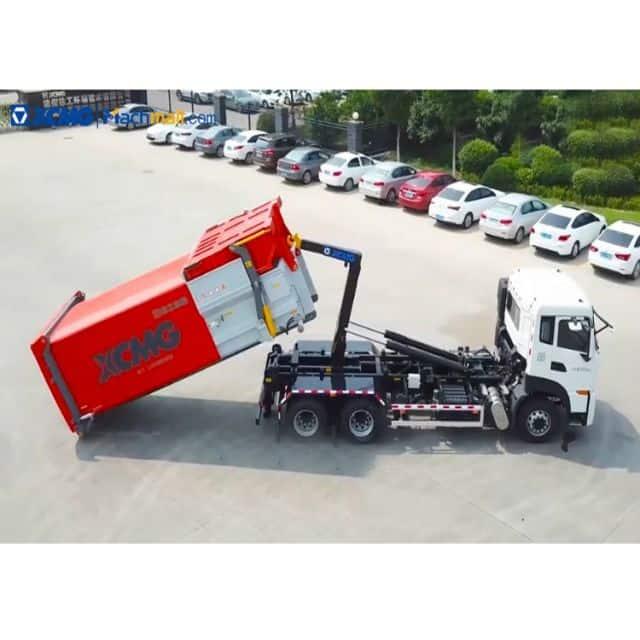 XCMG 12 cubic metre XZJ5160ZXXD5 hook lift garbage truck for sale