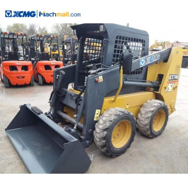 Skid steer loader for sale | XCMG mini skid steer loader XT740 price