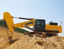 XCMG XE490DK China 48 ton Large Heavy Mining Excavator Machine Price
