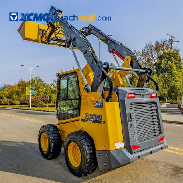 XCMG 1 ton mini Chinese skid steer loader XC7-SV12 with CE price