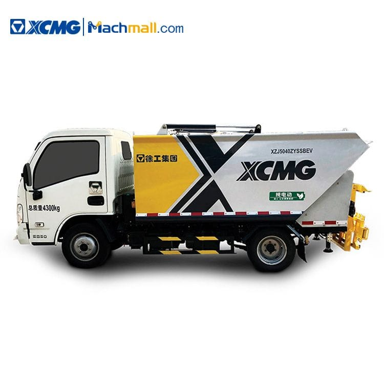 XCMG mini electric compactor garbage truck for sale