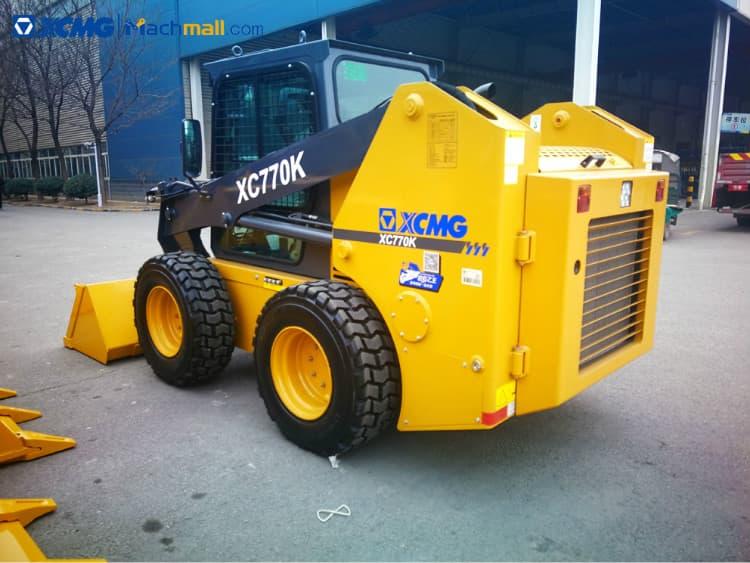 XCMG skid steer wheel loader 1 ton XC770K price