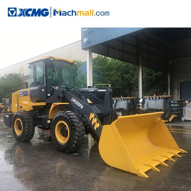 XCMG LW300FN 3 ton wheel loader with multifunction attachment price