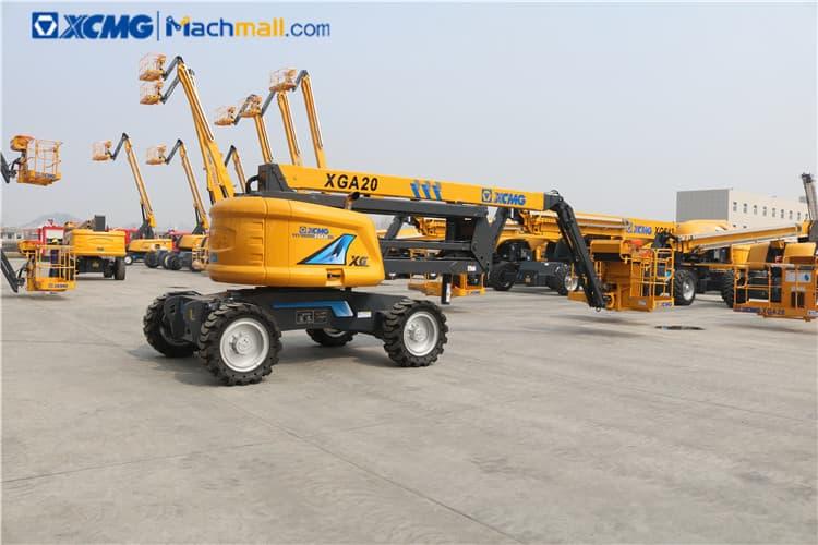 XCMG mobile 20m hydraulic lifting platform XGA20 for sale