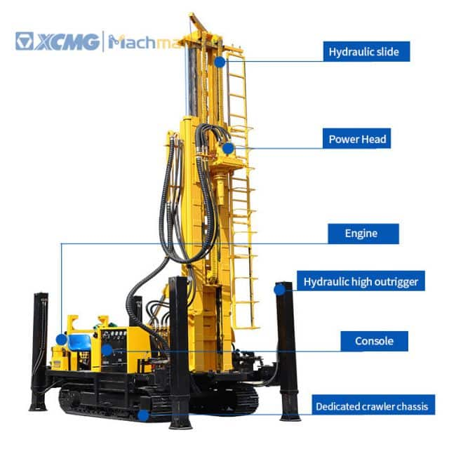 XCMG Track Type Full Hydraulic Water Well Drilling Rig for sale