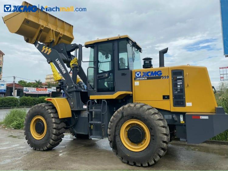 LW400KN wheel loader for sale | XCMG 4 ton loader machine price