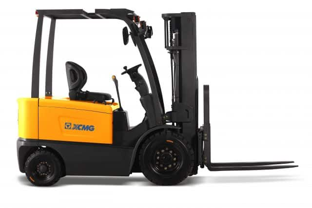 XCMG Official 1.5-3.5T 4 Wheel Electric Forklift for sale