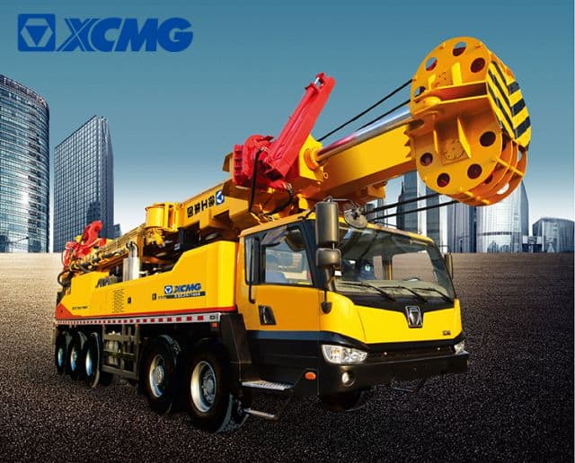 XCMG XSC20/1000 2000m Portable Trailer Mounted Deep Water Well Drilling Rigs
