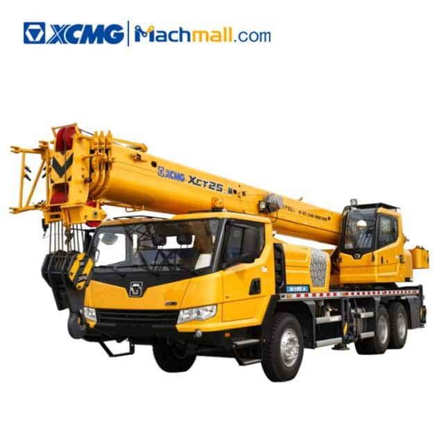 XCMG official 25 ton hydraulic truck crane XCT25_M price