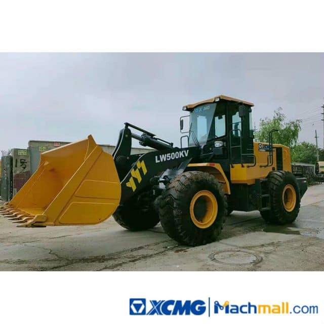XCMG Used 5 Ton Front Wheel Loader LW500 For Sale