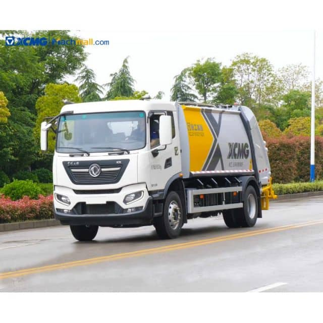 XCMG Offical 10 m3 Garbaged Truck With Crane Price