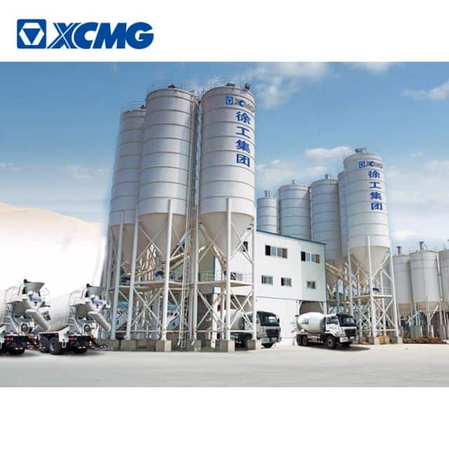 XCMG Official Manufacturer Ready HZS120KG Mix Concrete Batching Plant for Sale