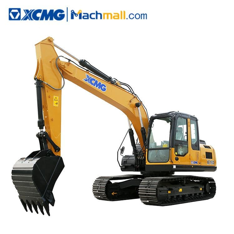 XCMG Official 15 ton XE150D crawler excavator for sale