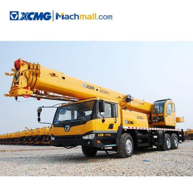 25 ton XCMG mobile truck crane QY25K-II price