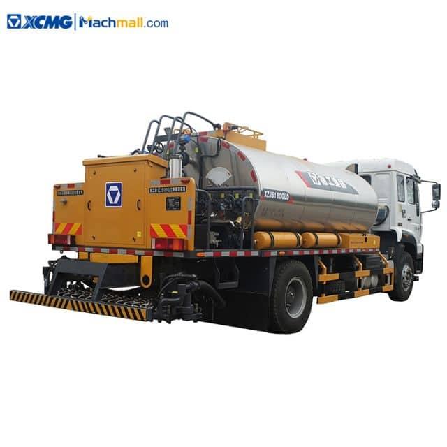 XCMG 8cbm asphalt distributor machine XLS803 with SINOTRUCK chassis price