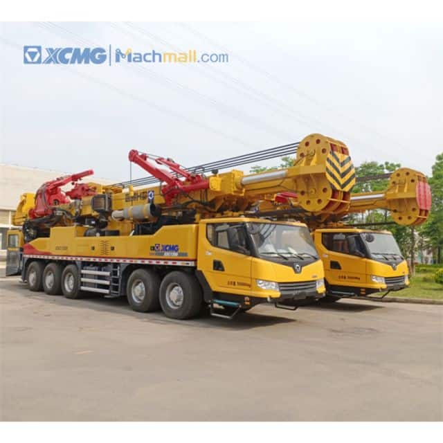XCMG Manufacturer Trailer Mounted Water Well Drilling Rig for Geothermal Energy Exploitation