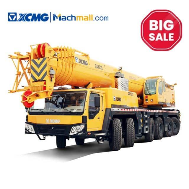 XCMG factory 220 ton cheap stock all terrain crane QAY220 on sale