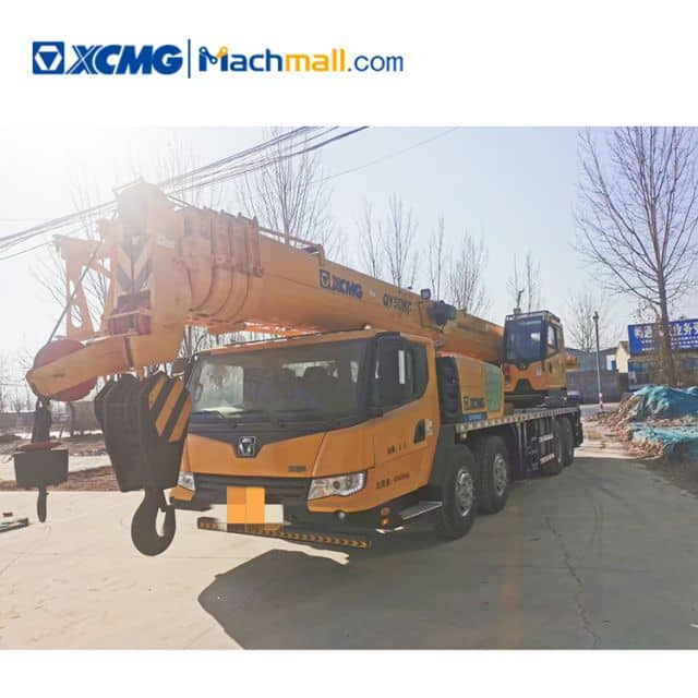 50 ton XCMG China new mobile truck crane QY50KC for sale
