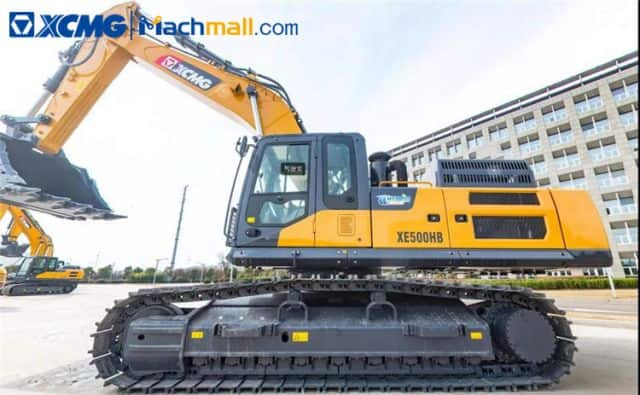 50 ton XCMG manufacturer XE500HB crawler excavator price