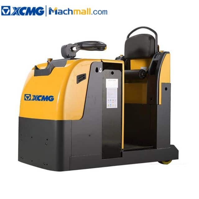 XCMG tow tractor stand-on electric forklift XCT-P30 3 ton capacity for sale