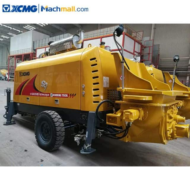 XCMG schwing technology hydraulic pump trailer HBT10020V for sale