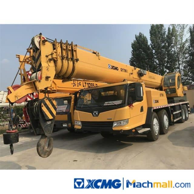 XCMG 70 Ton Used Hydraulic Mobile Truck Crane QY70K-I For Sale