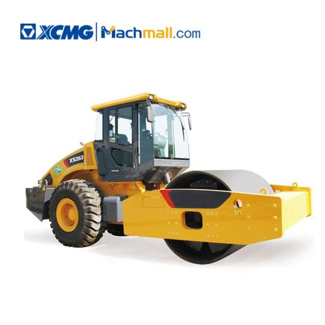 XCMG 26 ton single drum road roller XS263 for sale