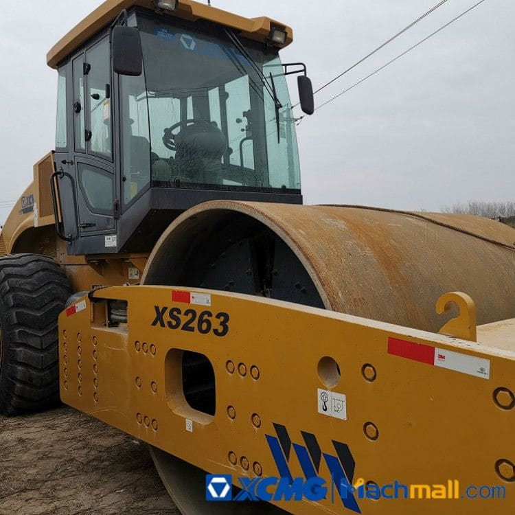 XCMG Used 26Ton XS263 Road Roller Compactor For Sale