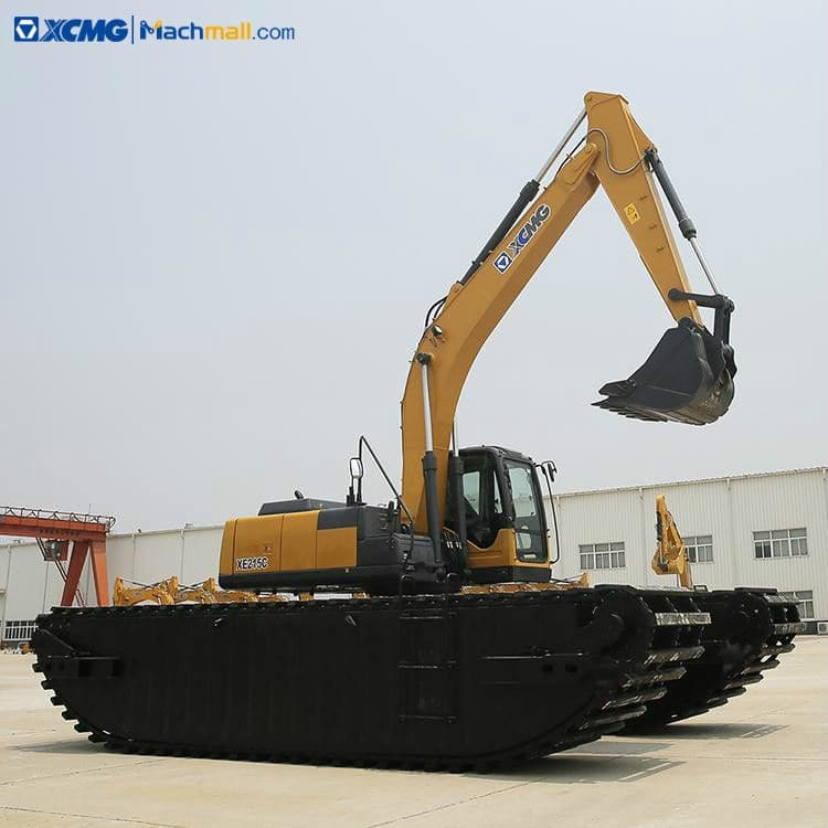 XCMG manufacturer XE215S 20 ton floating excavator for sale
