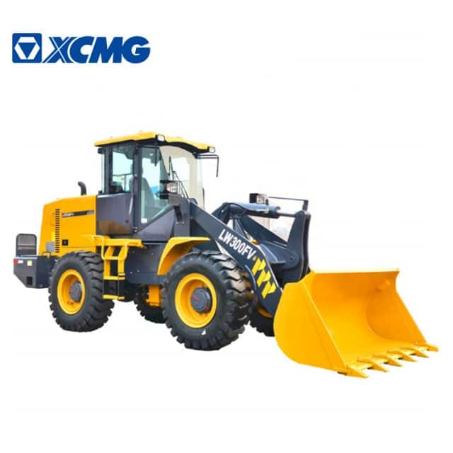 XCMG Official 3 Ton Small Wheel Loader LW300FV Chinese Mini Front Wheel Loaders Price