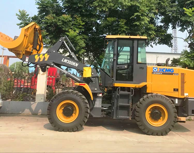 XCMG Official 3 ton Small Payloader Machine LW300KN Pay Loader With Price