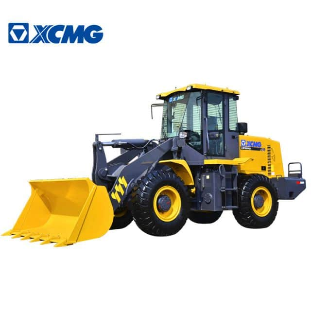 XCMG Official 3 ton small wheel loader LW300KN Chinese front wheel loader spare parts for sale