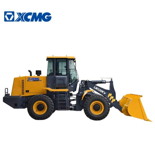 XCMG manufacturer 3 ton mini front loader LW330KV china new mini tractor front end loader for sale