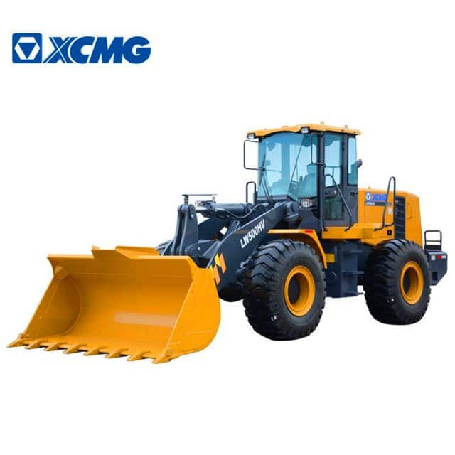 XCMG Official 5 ton small wheel loader LW500HV China rc wheel loader machine for sale