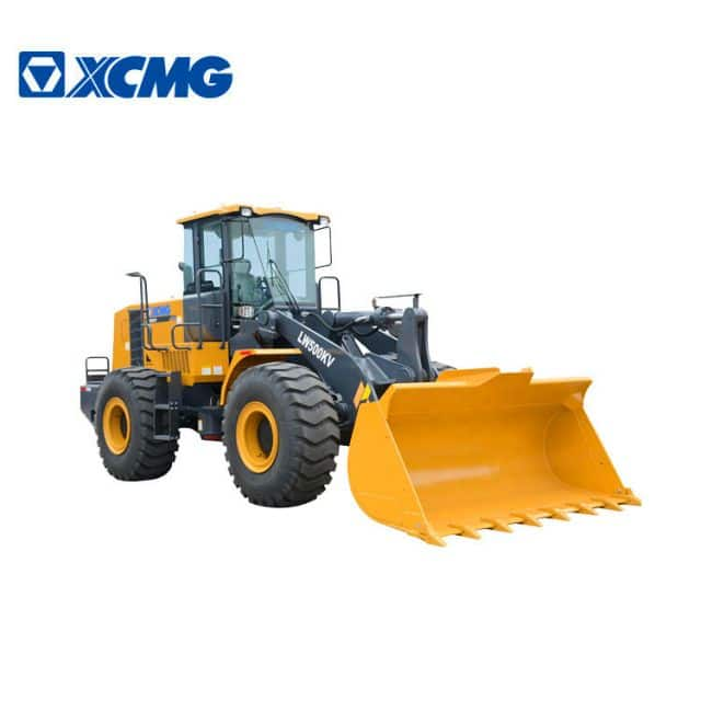 XCMG Manufacturer 5 ton front loader LW500KV China new 3m3 bucket front wheel loader machine price