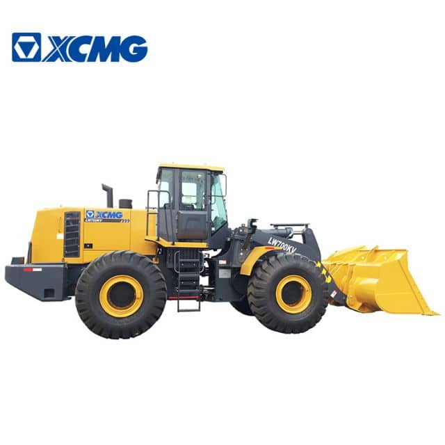 XCMG Official Manufacturer 7 ton wheel loaders LW700KV front wheel loader machine price