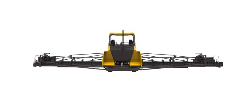 XCMG new 24m asphalt pavers RP2405 China road paver laying machine on Bauma Exhibition Show price
