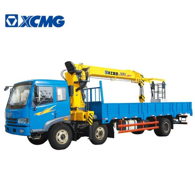 XCMG 8 ton New Small Telescopic Boom Truck Mounted Crane SQ8SK3Q Crane Mounted Truck price