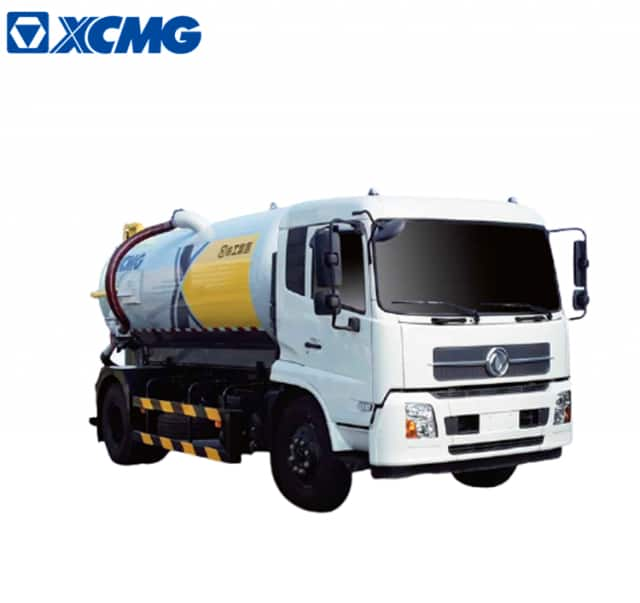 XCMG official manufacturer 10 ton vaccum truck sewage suction XZJ5180GXWD5 for sale
