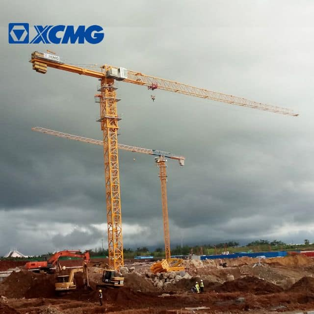 XCMG Official 25 Ton Tower Crane XGT560(8033-25) China Topless Tower Crane Price