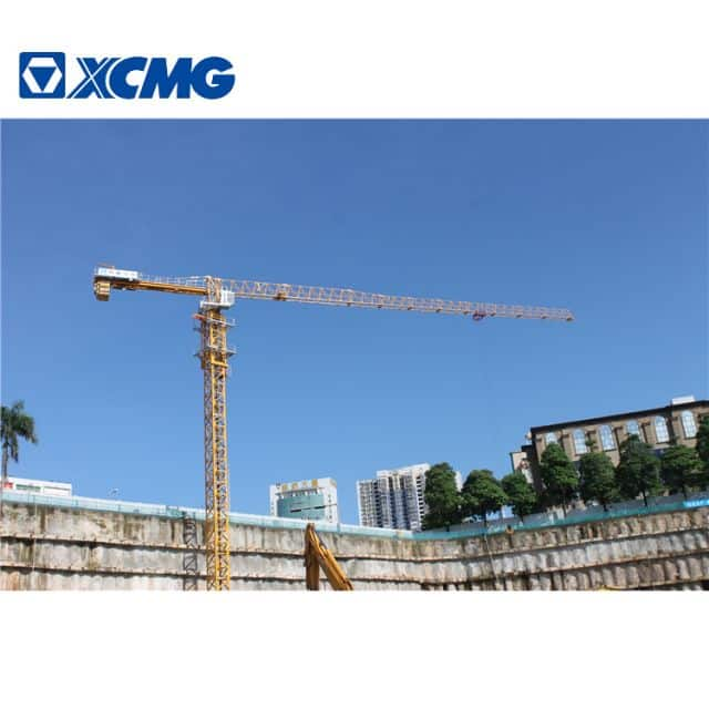 XCMG Official 10 Ton Tower Crane XGTT100A(5515-8) China New  Flat-Top Tower Crane Price