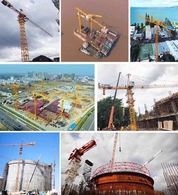 XCMG Official 10 Ton Tower Crane XGTT100A(5515-8) China New  Flat-Top Tower Crane Price