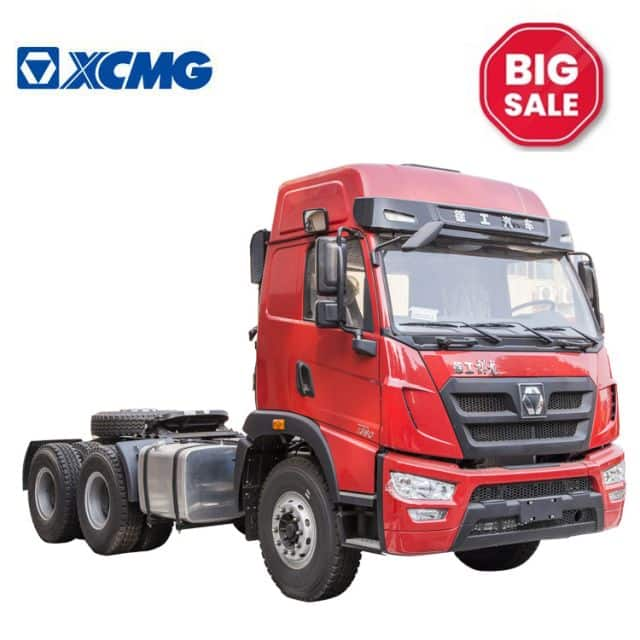 XCMG 8 ton 6*4 371HP cheap tractor truck XGA4250D2WC Chinese discount truck trailers on sale