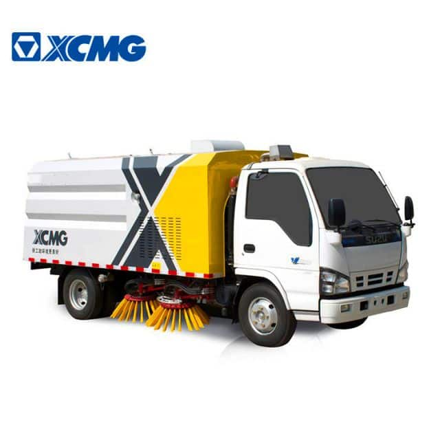 XCMG official manufacturer street sweeper garbage truck XZJ5081TSLJ5 for sale