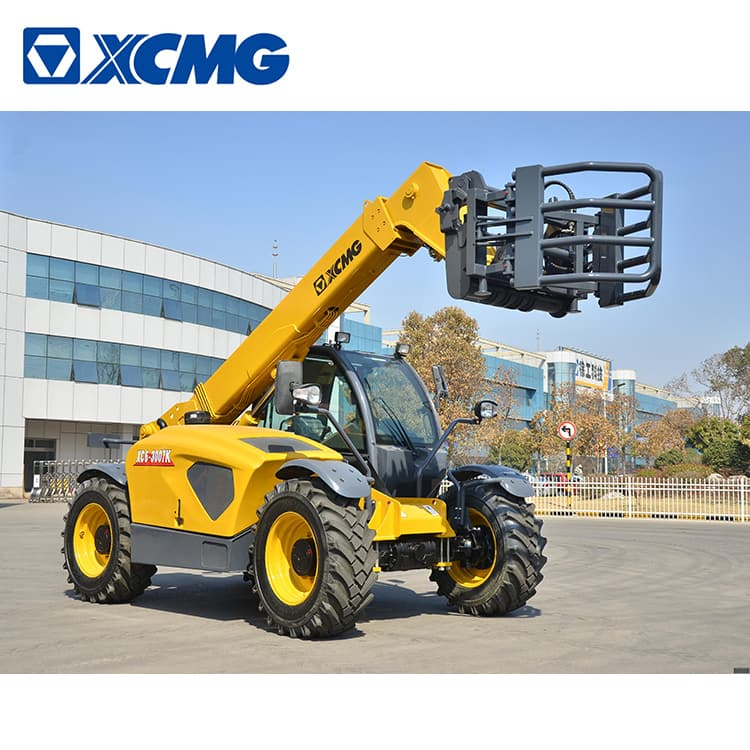 XCMG 7m mini telescopic wheel loader XC6-3007K with factory price