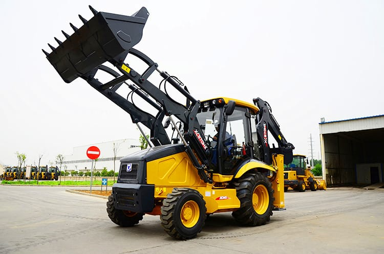 XCMG new 2t mini digger front loader with backhoe XC870HK