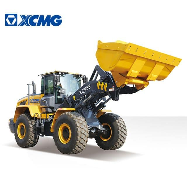XCMG Official 5 ton wheel loader China new front wheel loader XC958 for North America price