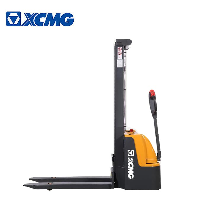 XCMG Electric Stacker 1.6 ton walking pallet stacker forklifts XCS-PW16 for sale