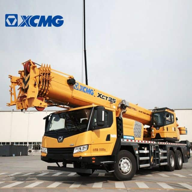 XCMG Manufacturer 35 Ton Truck Crane Mobile Truck Crane XCT35 with Good Price