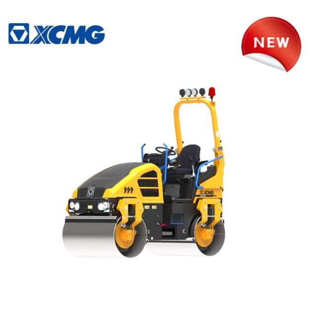 XCMG official manufacturer vibratory roller mini road roller XD120 for European and American price